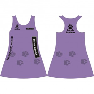 Attack Sports Purple Panthers SportsActive Dress