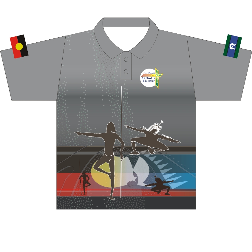 Attack Sublimation Shirt