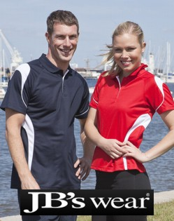 Attack Sports JBs Polo shirts