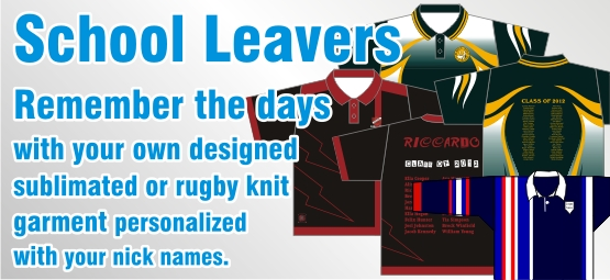 Attack Sports School Leavers Custom made apparel
