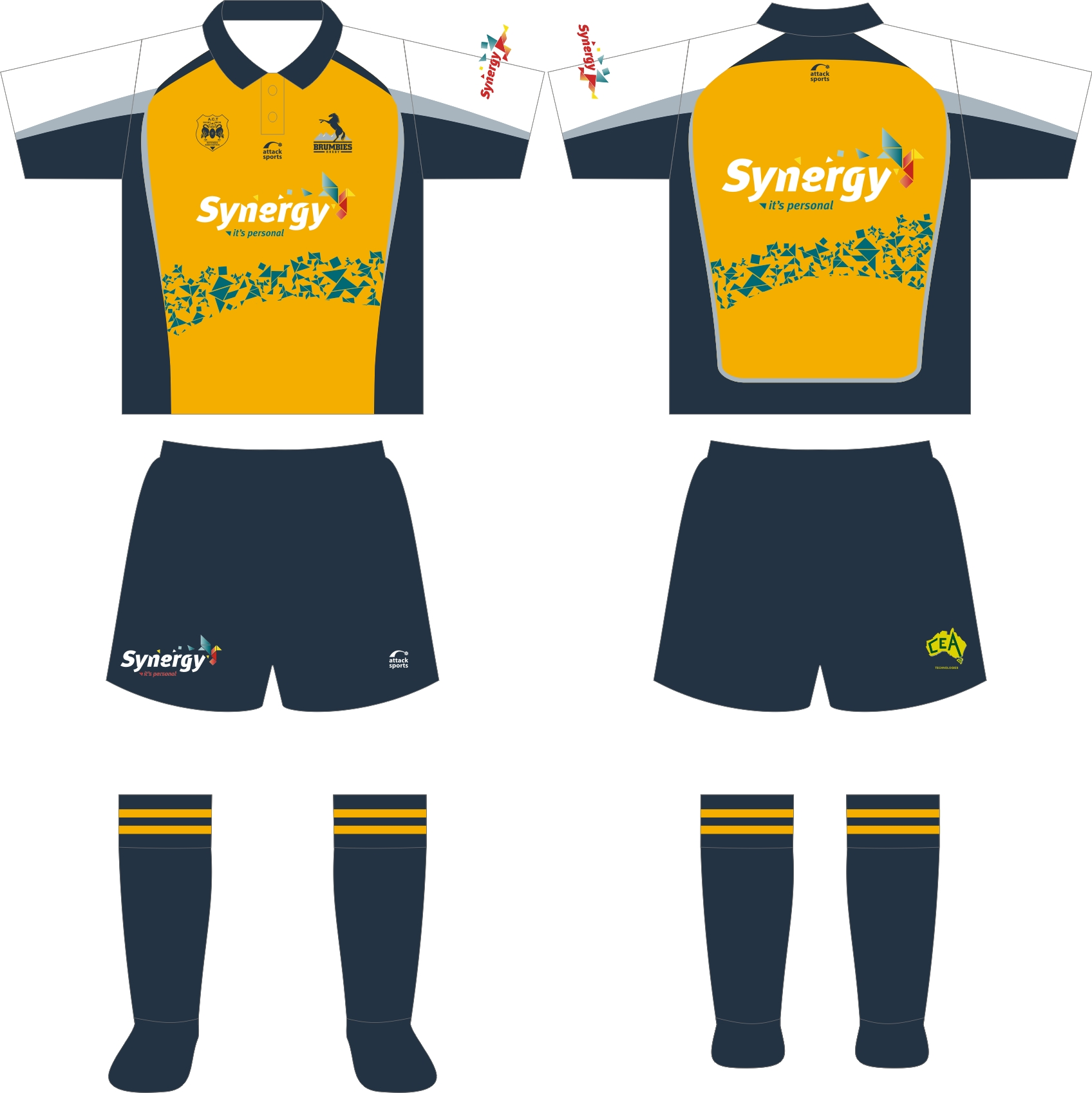 Brumbies Ref Gold